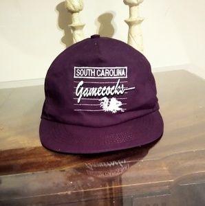 Vintage 1981 South Carolina gamecock snapback hat